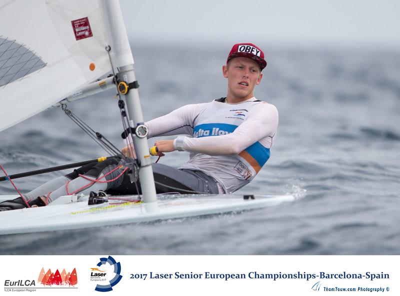 2017 Laser Senior European Championship  Barcelona Spain