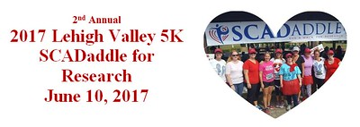 2017 Lehigh Valley 5k SCADaddle for Research