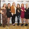 Krista Milburn, Elizabeth Mundt, Madison Gunter, Katelyn Sherrard, Kristen Newberry and Lauren Floden.