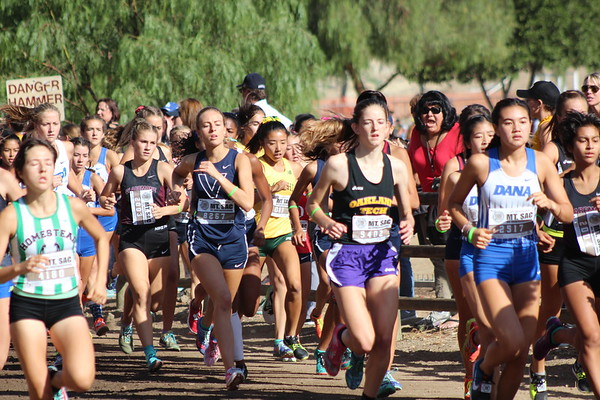 2017 Mt SAC Girls D1&D2 Team Sweepstakes-Race 38