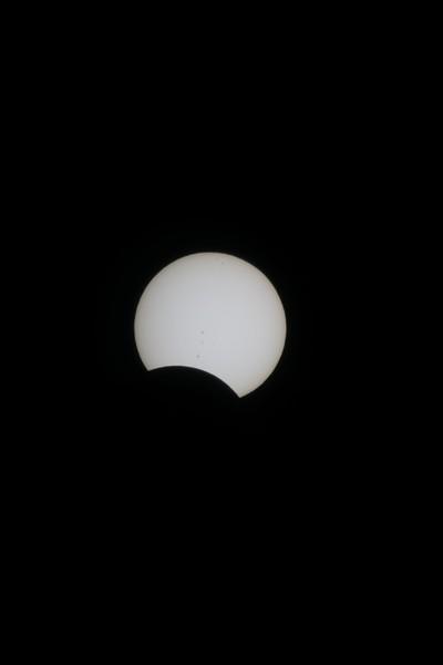 Partial Solar Eclipse August 21 2017