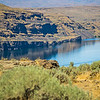 Wanapum Lake Colombia River Wild Horses Monument canyons