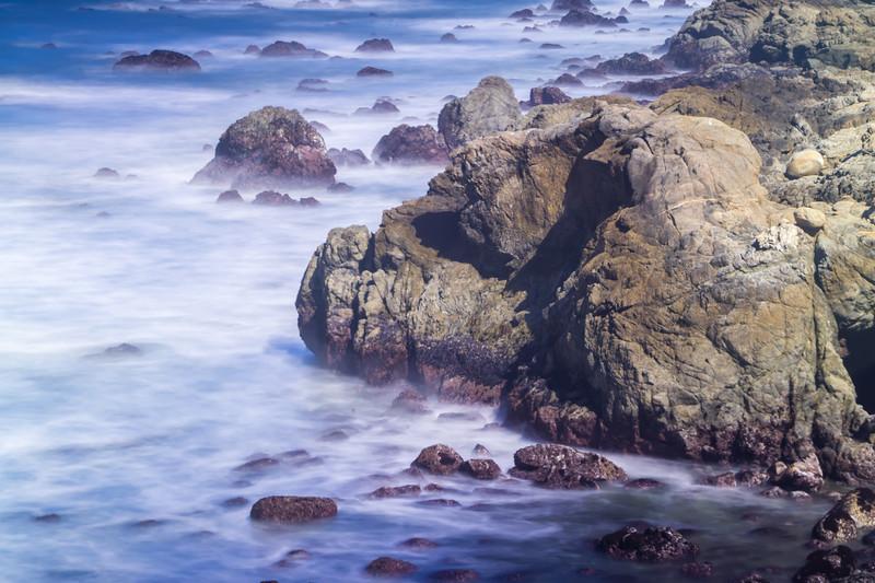 coastal scenes at usa pacific coast