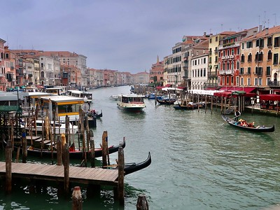 Days 7-10 - Pit stop in Florence, then a day in Venice, Como/Lake Como and Ciao from Milan