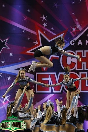 Black Widow Cheer Gym Crush Large Senior 3