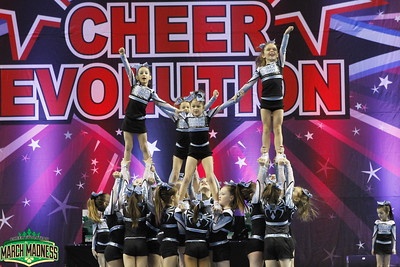 Black Widow Cheer Gym Fireworks Mini 1