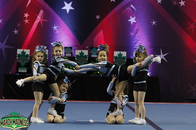 Black Widow Cheer Gym Tiny Prep 1
