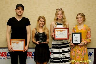 Ryan Snow, Terez Goulet, Julie Sellin, Jordan Leaf - Global Star Search 2017 402