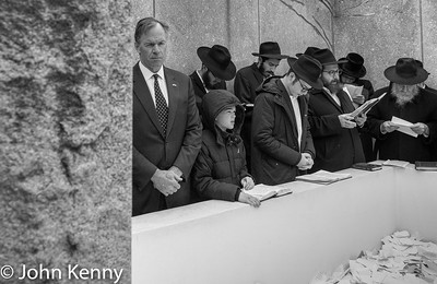 Massey at The Ohel