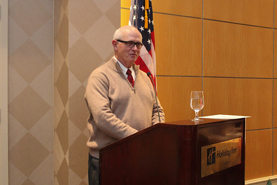 AFBF's Chief Economist & Deputy Executive Director Bob Young gives attendees a warm welcome, discussing current issues facing agriculture on Capitol Hill.