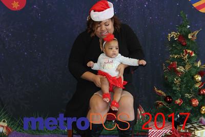 2017 - Metro PCS Santa Pics