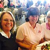 From left, Sheryl Heffernan of Chelmsford, and Mary Rose Murphy, Barbara Langathianos, both of Lowell