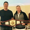 Rick DeFelice of Nashua with Micky Ward of Lowell