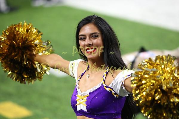 2017 MN Vikings Cheerleaders at Miami game (8-31-17 preseason)