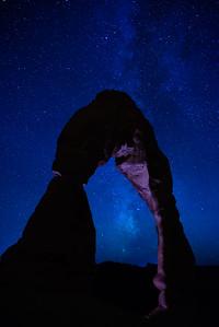 Delicate Arch & Milky Way