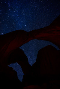 More stars at Double Arch