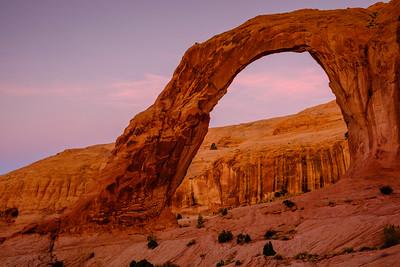 Corona Arch, on BLM land outside Moab