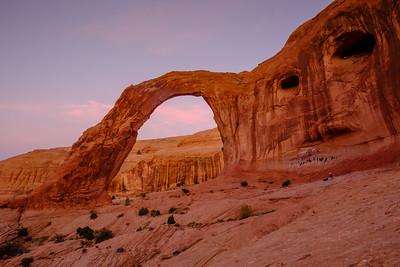 Corona Arch & face in the stone