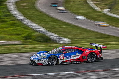 Mobil 1 Sportscar Grand Prix @ Canadian Tire Motorsport Park - IMSA WeatherTech Championship - Race - #67 Richard Westbrook, and Ryan Briscoe in a Ford GT - Ford Chip Ganassi Racing