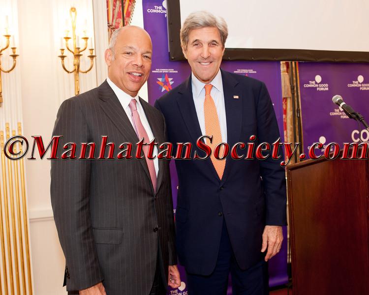 Jeh Johnson Former United States Secretary of Homeland Security, John Kerry Former United States Secretary of State