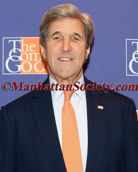NEW YORK, NY - MAY 12:   Former Secretary of State John Kerry at The Common Good Forum 2017 at a private club on May 12, 2017 in New York, NY (Photo by Gregory Partanio/ManhattanSociety)