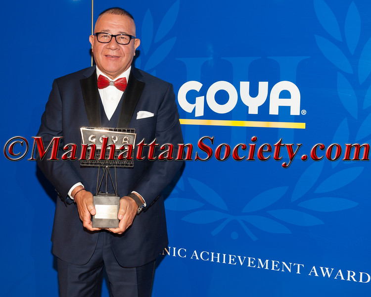 Henry Cardenas,  III Goya Hispanic Achievement Award Recipient