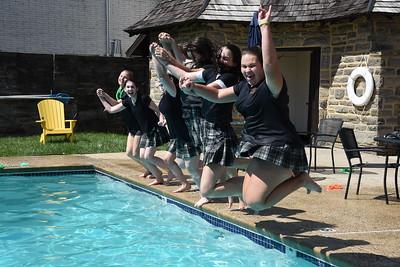 Mother daughter swim teams