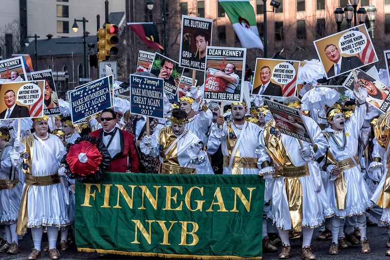 Finnegan NYB Ready to March