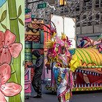 Flower Float, Mummer, Dragon Head