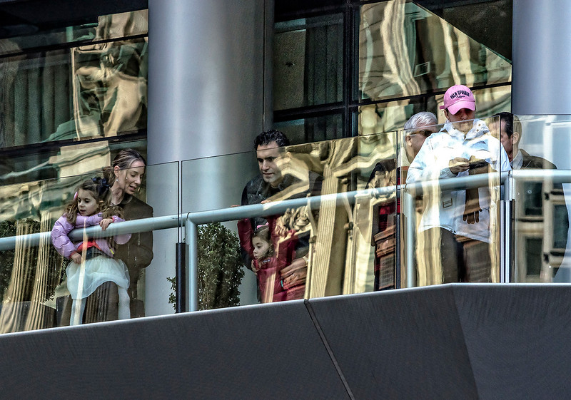 Balcony Viewing of the 2017 Mummers Parade