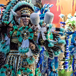 Mummers Wearing Feathers