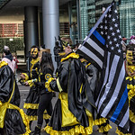 Bat Mummers, Blue Flag