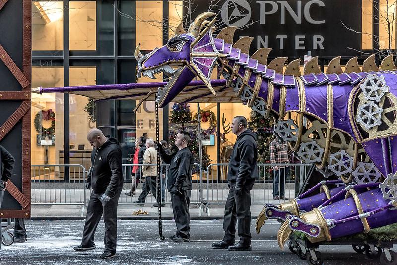Purple Dragon Parade Float