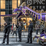Purple Dragon Parade Float