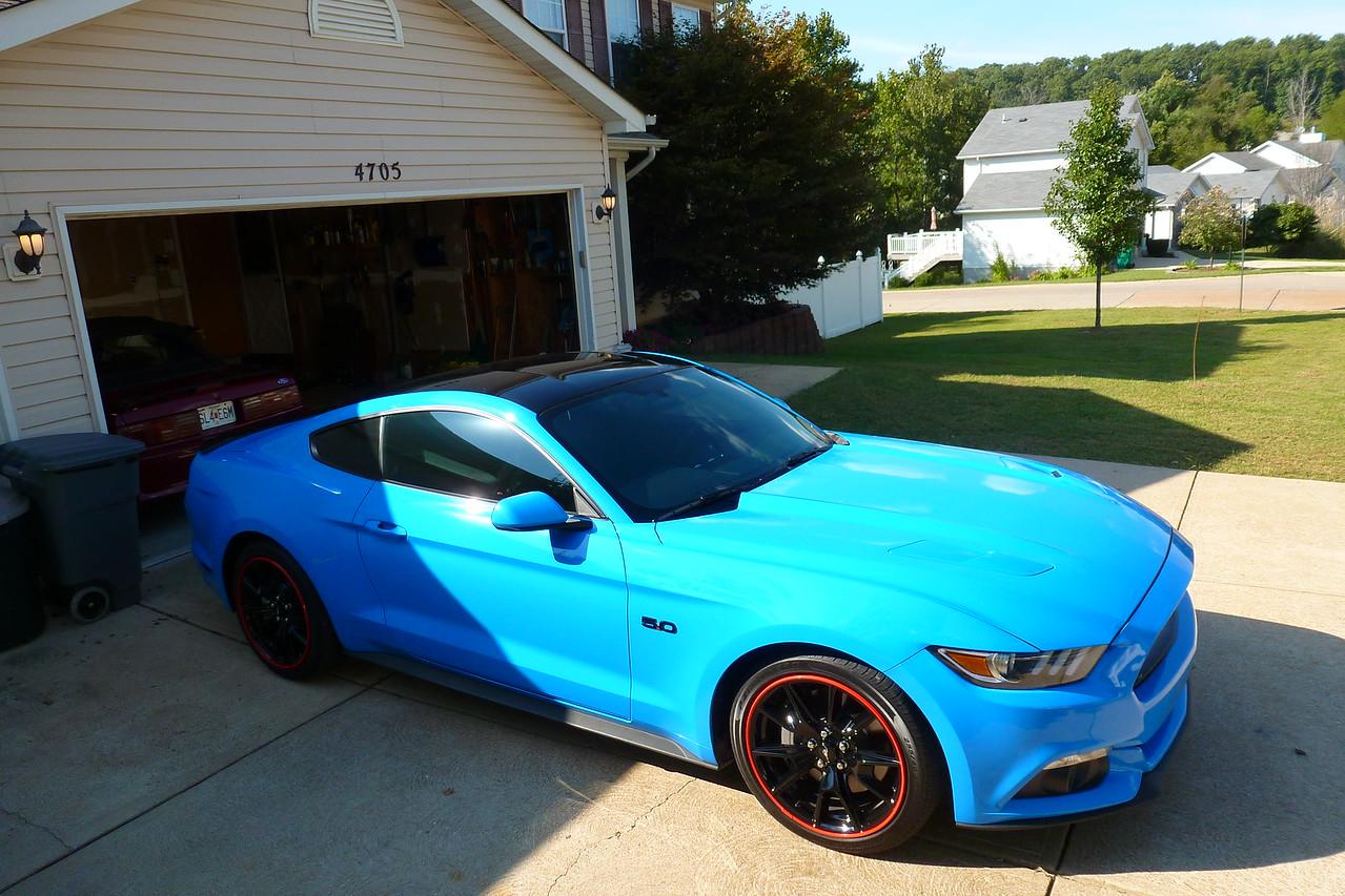 17 Mustang GT first 3 mods - MX-5 Miata Forum