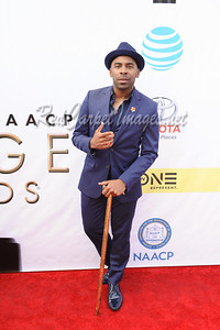 LOS ANGELES, CA - FEBRUARY 11: Celebrities arrive to the NAACP Awards at the Pasadena Civic Center on Saturday, February 11, 2017, in Los Angeles, CA, USA. (Photo by Aaron J /RedCarpetImages.net)
