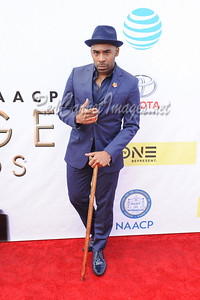 LOS ANGELES, CA - FEBRUARY 11: Celebrities arrive to the NAACP Awards at the Pasadena Civic Center on Saturday, February 11, 2017, in Los Angeles, CA, USA. (Photo by Aaron J. / RedCarpetImages.net)