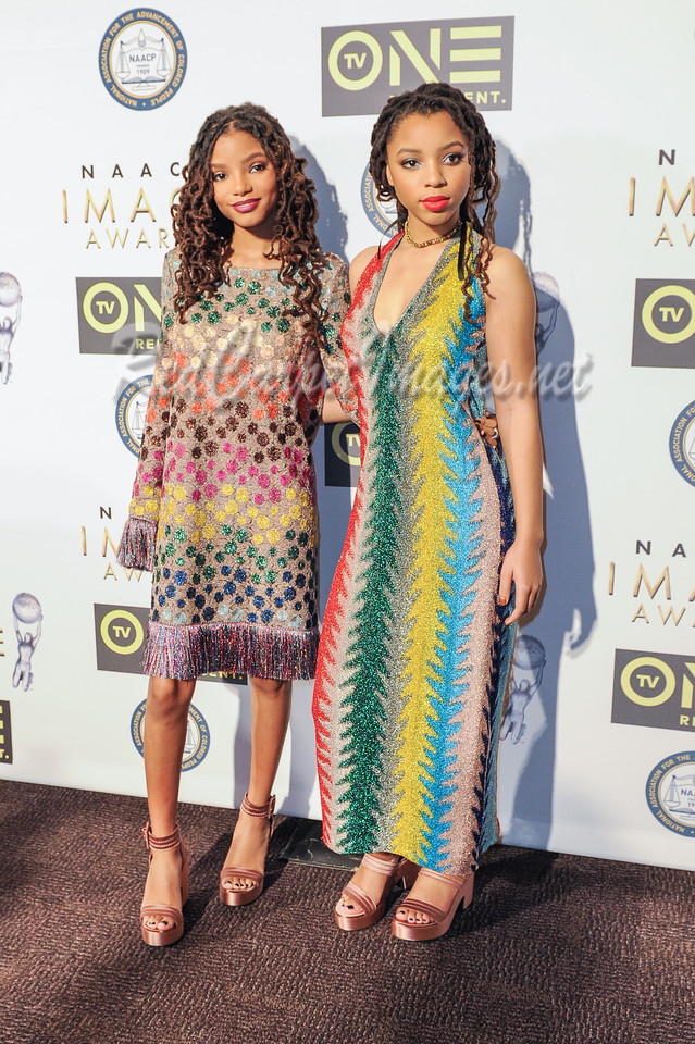 LOS ANGELES, CA - FEBRUARY 10: Celebrities arrive to the non televised NAACP Awards at Pasadena Civic Center on Friday, February 10, 2017, in Los Angeles, CA, USA. (Photo by Aaron J /RedCarpetImages.net)