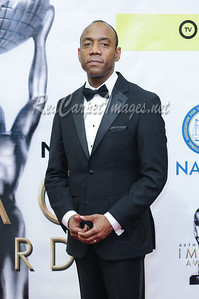 LOS ANGELES, CA - FEBRUARY 11: Celebrities and Honorees in the press room at the 48th NAACP Awards at the Pasadena Civic Center on Saturday, February 11, 2017, in Los Angeles, CA, USA. (Photo by Aaron J /RedCarpetImages.net)