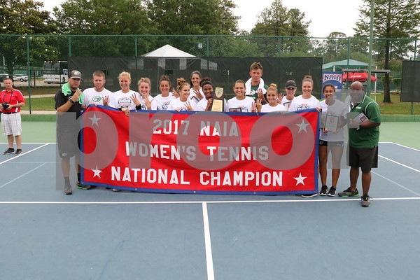 2017 NAIA Women's Tennis Championship - May 17-20