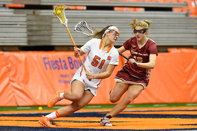 NCAA WLax: BC at SU; 2/11/17