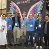 JOPLIN YOUTH—Youth from St. Mary Parish, Joplin, and St. Peter the Apostle Parish, Joplin, discussed the opportunity to be saints with two missionary religious during the National Catholic Youth Conference held  Nov. 15-19, 2017 at the Indiana Convention Center. (<i>The Mirror</i>)
