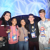 NATIONAL CATHOLIC YOUTH CONFERENCE—Over 25,000 ​attended NCYC 2017, including Kate Huthsing, Gliza Damaso, Emma Yabut, Korey Glover,​ and Thomas Black​ from the Diocese of Springfield-Cape Girardeau. (<i>The Mirror</i>)