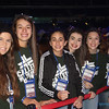 ​DIOCESAN YOUTH—​Ruth Graham, Bryn Neria,  Caroline Joseph, Gracie Gardner, Isabella Bertoncino​,​ and Elizabeth Motazedi​ of St. Peter the Apostle Parish, Joplin, at NCYC 2017. (<i>The Mirror</i>)