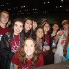 PRAISE & WORSHIP—Youth from the Diocese of Springfield-Cape Girardeau were all smiles during NCYC 2017 held Nov. 15-19 in Indianapolis. Over 25,000 attended the every-other-year youth event, 231 from the Diocese of Springfield-Cape Girardeau.  (<i>The Mirror</i>)