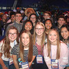 NCYC 2017—Youth from St. Mary Parish, Joplin, were all smiles during NCYC 2017 held November in Indianapolis. Over 25,000 attended the every-other-year youth event, 231 from our diocese.  (<i>The Mirror</i>)