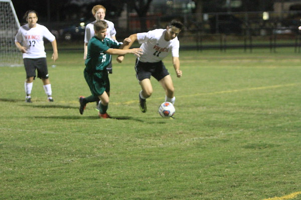 NE Boys Soccer vs Seminole 11-28-17