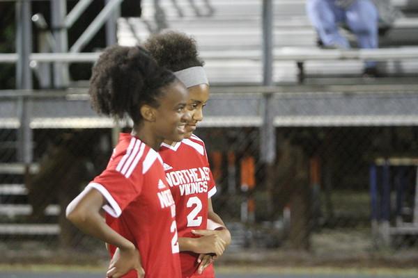 NE JV Girls Soccer vs Osceola 12-5-17