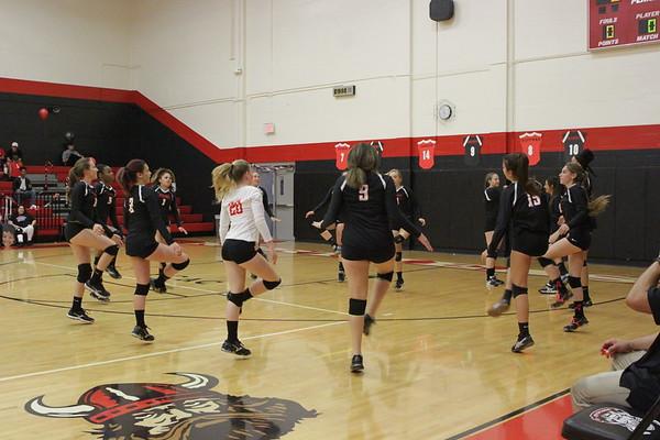 NE V vs Lakewood Senior Night 10-10-17