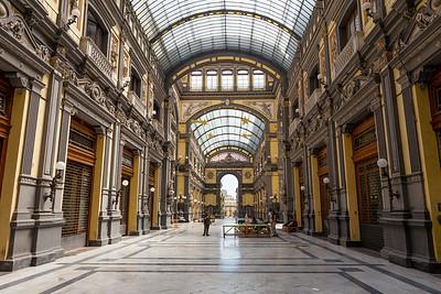 Galleria Principe di Napoli, Naples, Italy, 2017